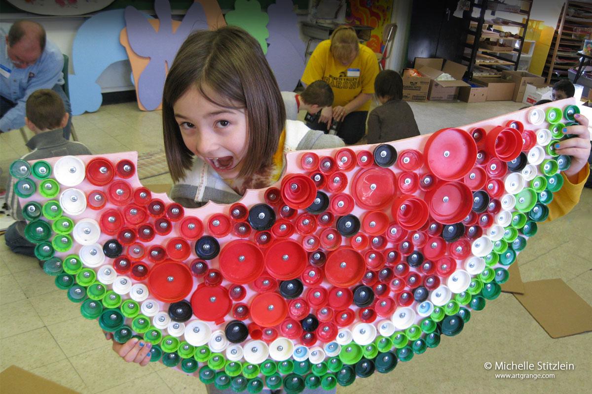 Craft Ideas Using Plastic Bottle Caps